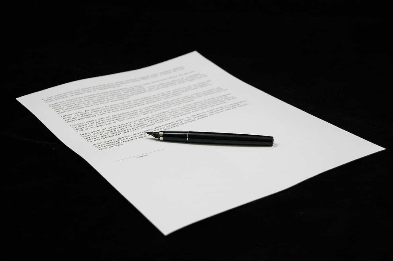 Zmiana umowy